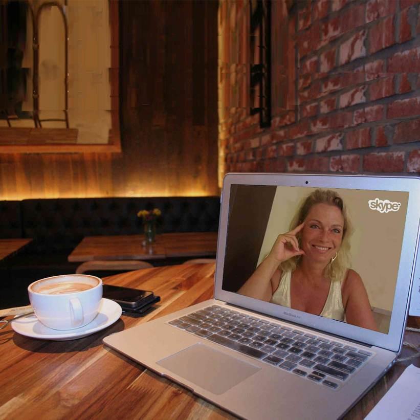 Online SEO Beratung per Videochat mit Skype