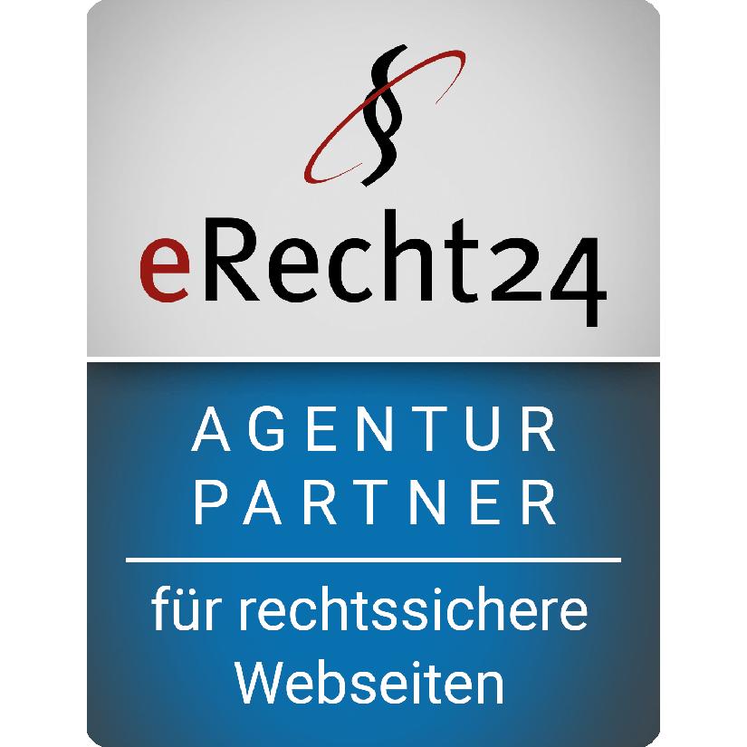 eRecht24 Siegel Agenturpartnter SEO Agentur Mudra